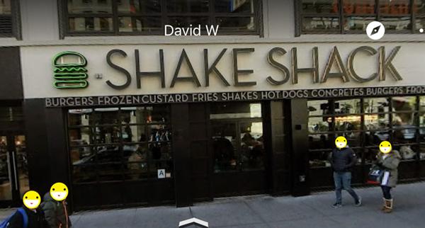 シェイクシャックストリートビュー