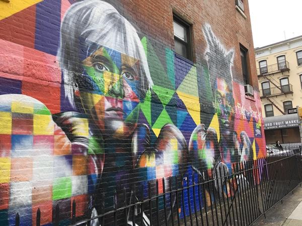 ブルックリン壁アート