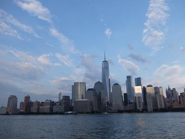 サークルラインクルーズから見たマンハッタン