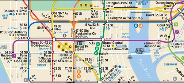 ニューヨーク地下鉄⑦線