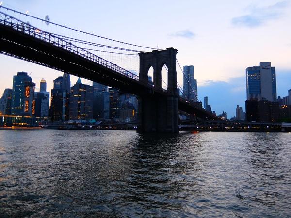 クルージングから見たブルックリン橋