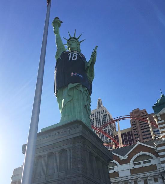 ニューヨークニューヨークの自由の女神
