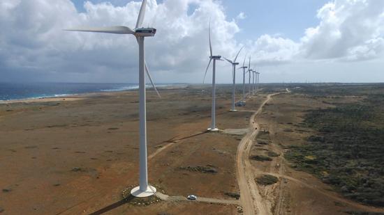 アルバの風力発電