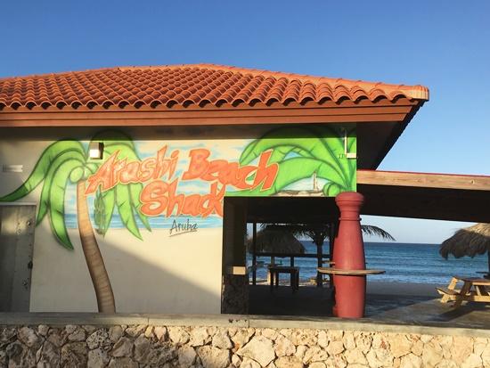 アルバのアラシービーチ