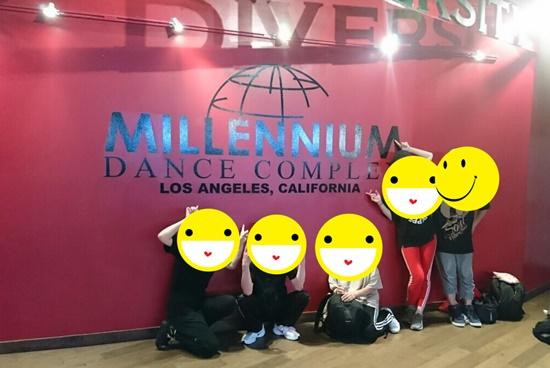 milleniumdancecomplexスタジオ